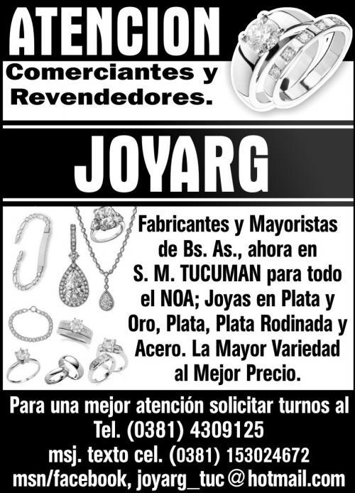 99ca2b5a433d Joyarg joyas argentinas en Tucumán - Joyas