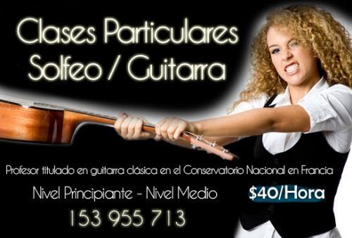 Clases de guitarra por profesor titulado ? córdoba, argentina