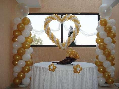 Decoracion con globos para tu fiesta