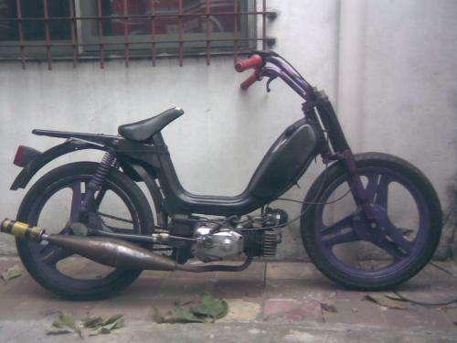 Vendo ciclomotor zanella due 90cc motor hecho a nuevo!