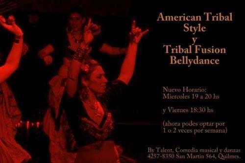 Danza - tribal style bellydance