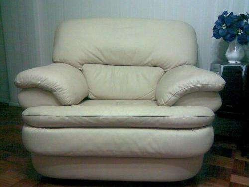 Vendo 2 sillones de cuero de 1 cuerpo