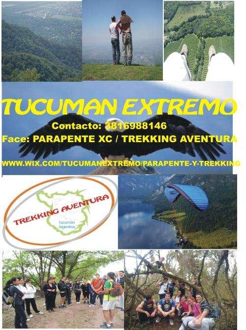 Aventura - parapente y trekking