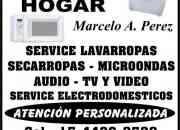 Service de Lavarropas, Microondas, Secarropas y Lavavajillas