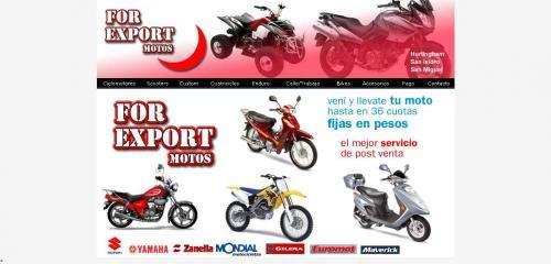 Venta de motos, ciclomotores, cuatriciclos y scooters | palomar | for export motos
