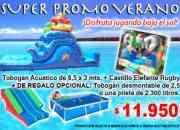 Promocion verano juegos inflables babysjuegos