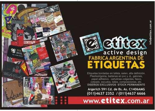 Etitex fabrica argentina de etiquetas