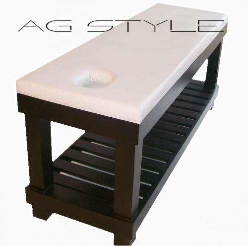 Fabricantes de camillas en madera para spa ag style