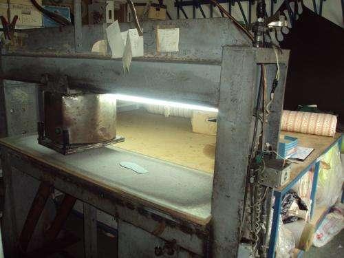 Maquinaria para fabrica de alpargatas y pantuflas