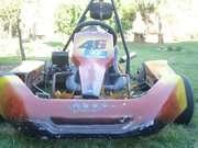 Vendo /permuto karting chasis vara