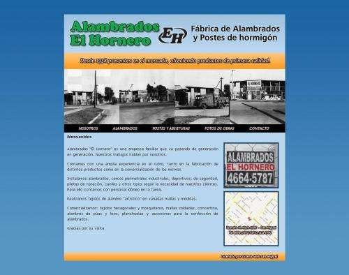 Alambrados el hornero | fábrica de alambrados | entregas en josé c paz | tel 4664-5787
