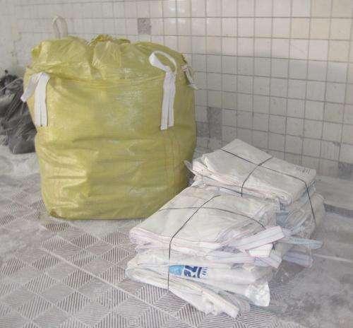 Bolsones big bag - usados recuperados un solo uso