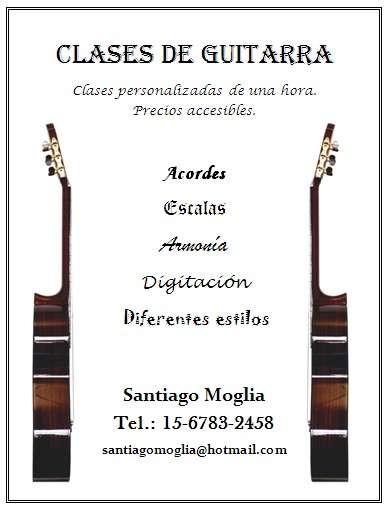 Profesor de guitarra en quilmes