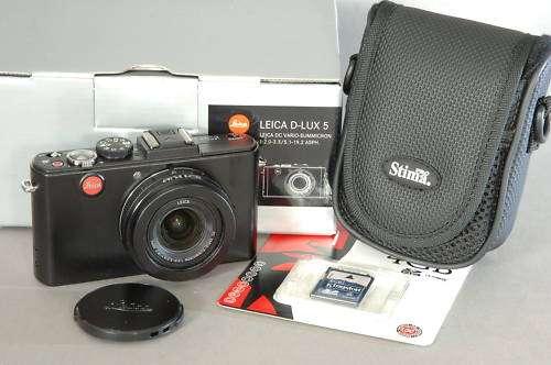 Leica d-lux 5 - vario summicron 24-90