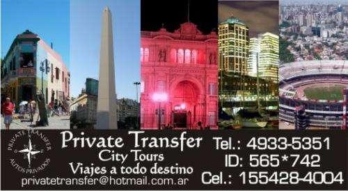Servicio de remis - private transfer - turismo - ezeiza - aeroparque -terminales fluviales