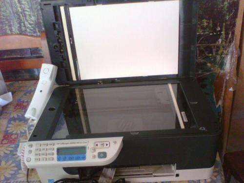 Vendo impresora hp offiecejet j4660 (all in one)