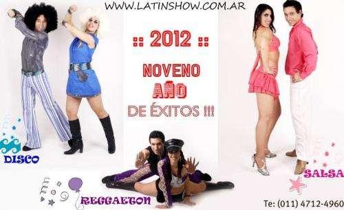 Animacion para fiestas - show de salsa - show de reggaeton - show disco - latinshow
