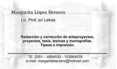 Redacción y corrección de tesis
