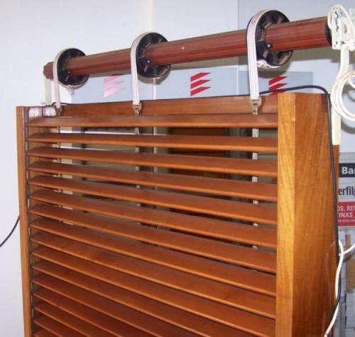 Reparación de cortinas de madera venta y colocación