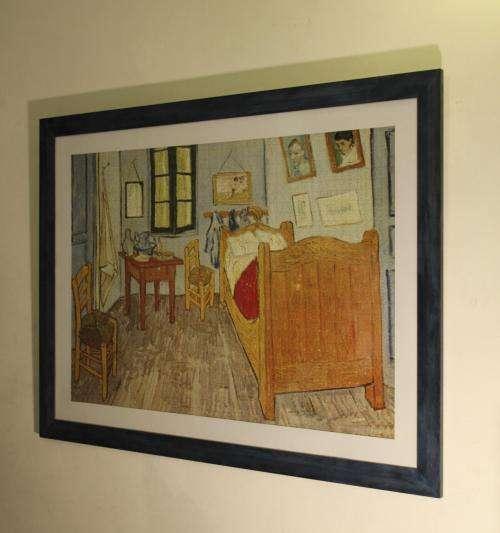 Taller de marcos artesanales. enmarcado. marcos para cuadros (fulgor ...