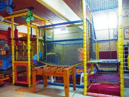Instalacion completa para salon de fiestas infantiles