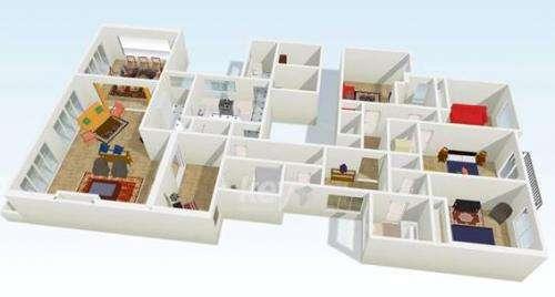 Alquiler departamento en piso de categoría amoblado en recoleta buenos aires