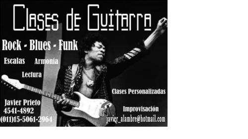 Clases de guitarra personalizadas - javier - 1550612964