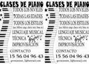 Clases de PIANO paritulares en avellaneda!!!