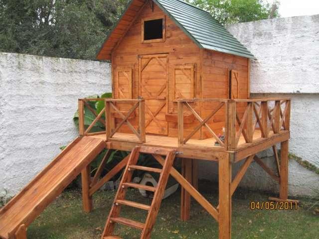 Cabañas infantiles de madera para chicos en Buenos Aires ...