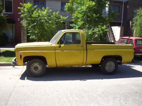Chevrolet 10 pick up diesel 1976 - chascomus