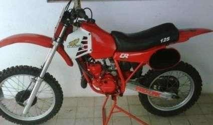 Sport moto: honda cr 125 r elsinore 1981 unica de coleccion