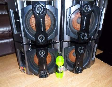 Espectaculares parlantes sony, potencia 150rms, $500 c/u