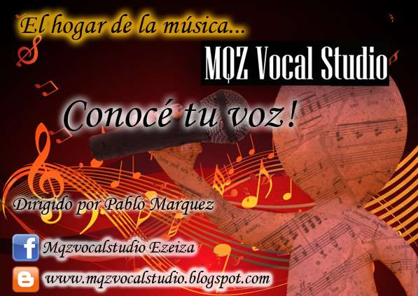 Mqz vocal studio, clases de canto, piano y guitarra de alto nivel profesional tambien p/amateurs