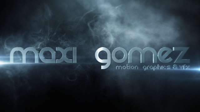 Motion graphics vfx after effects cinema 4d argentina