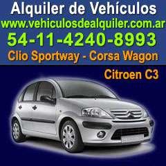 Rent a cars vehiculos de alquiler argentina buenos aires
