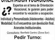 ORIENTACION VOCACIONAL-OCUPACIONAL.