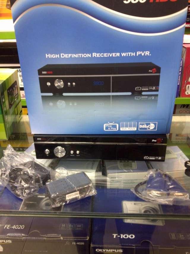 Kit receptor satelital full hd original