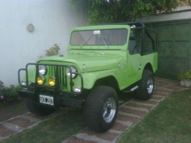Vendo jeep ika 4x4 digno de ver,( exigentes acepto permuta)