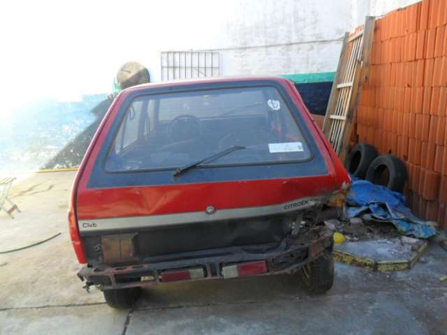 Vendo auto citroen visa chocado para entendidos