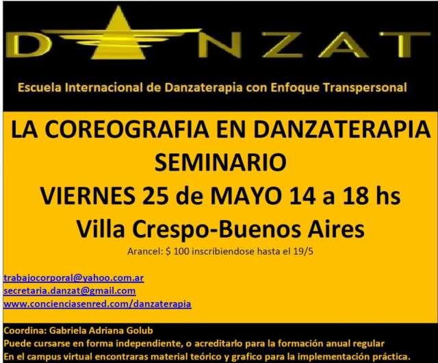 Seminario de danzaterapia-mayo 25 de 2012