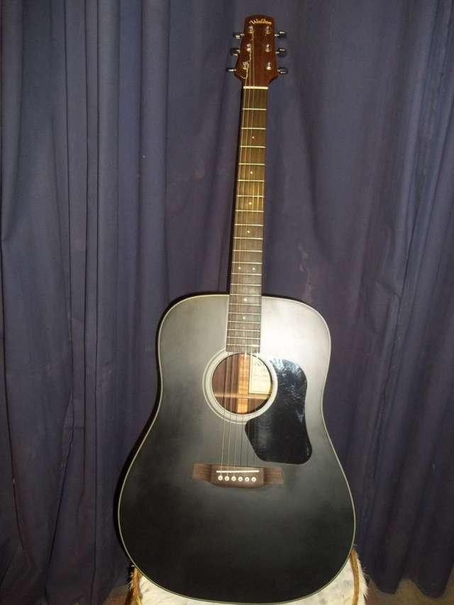 Vendo guitarra electroacustica nueva marca walden