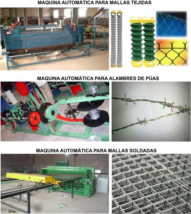 Maquinas automaticas para alambres de todo tipo