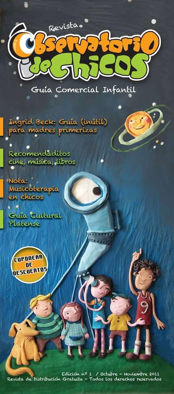 Publicidad revista observatorio de chicos