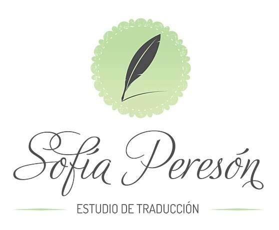 Sofía peresón | estudio de traducción