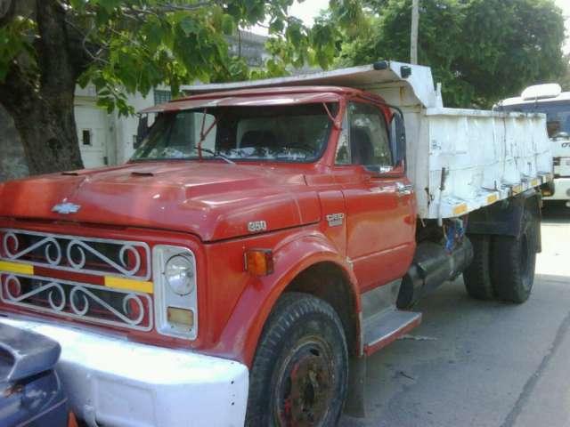 Camion chevrolet c60 volcador mecanica 1114 en perfecto estado