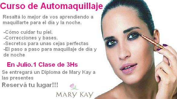 d3b870267 Curso de auto-maquillaje por mary kay cosaméticos en Capital Federal ...