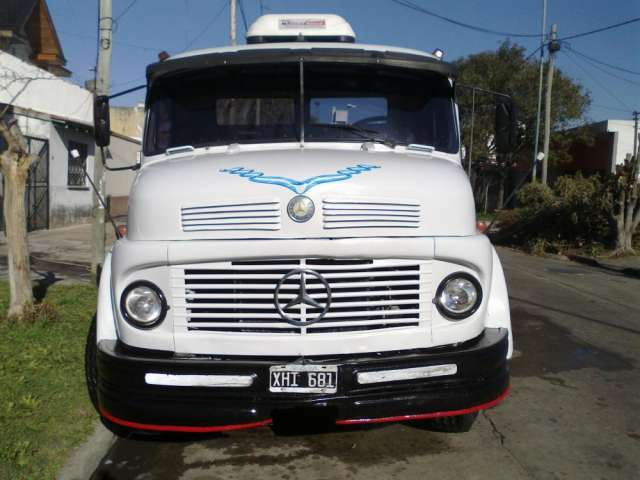 Vendo camion mercedez benz l 1114 excelente estado