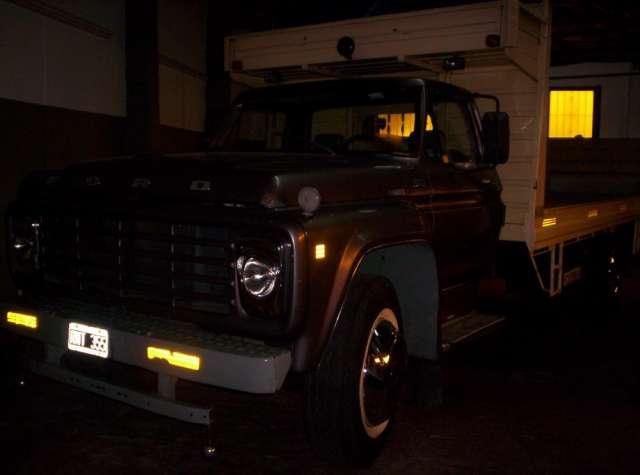 Dueño vende camion ford 6000 modelo 1980