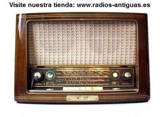 Radio antigua philips de 1955. reparada y garantizada