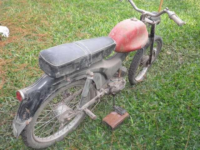 Vendo moto para restaurar es una legnano 48